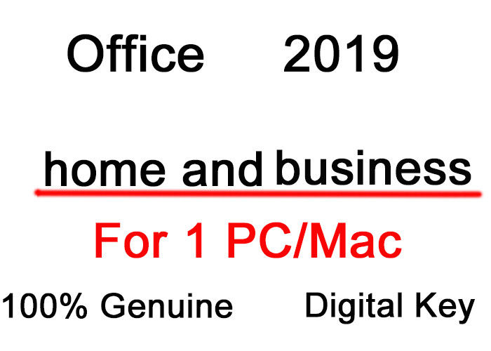 Microsoft Office Home And Business 2019 For Win Mac 2PC Lifetime Use