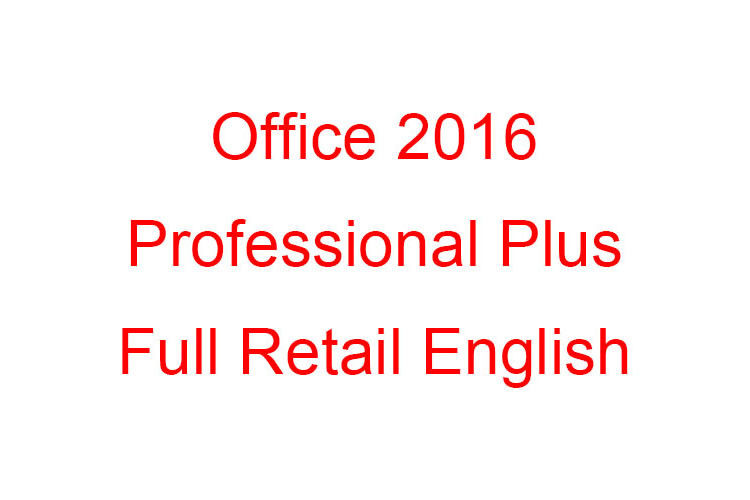 500 User Microsoft Office 2016 Professional Plus Retail Key Email Format